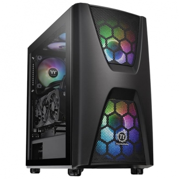 Компьютерный корпус Thermaltake Commander C34 TG ARGB CA-1N5-00M1WN-00 Black