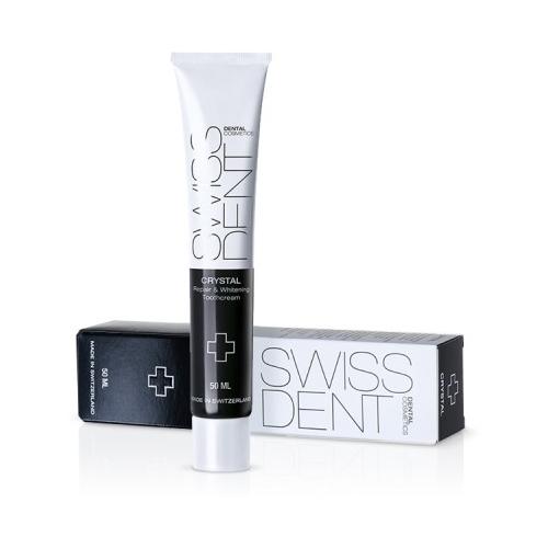Крем для зубов SWISSDENT Crystal