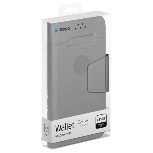 Чехол Deppa Wallet Fold M