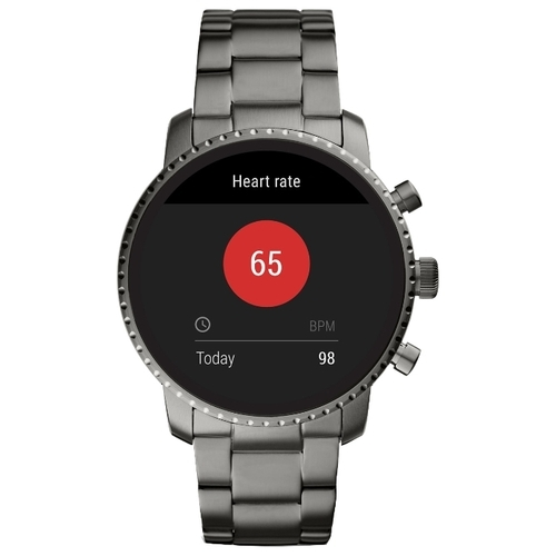 Часы FOSSIL Gen 4 Smartwatch Explorist HR (stainless steel)