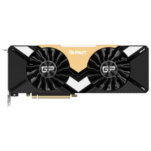 Видеокарта Palit GeForce RTX 2080 Ti 1350MHz PCI-E 3.0 11264MB 14000MHz 352 bit 3xDisplayPort HDMI HDCP GamingPro