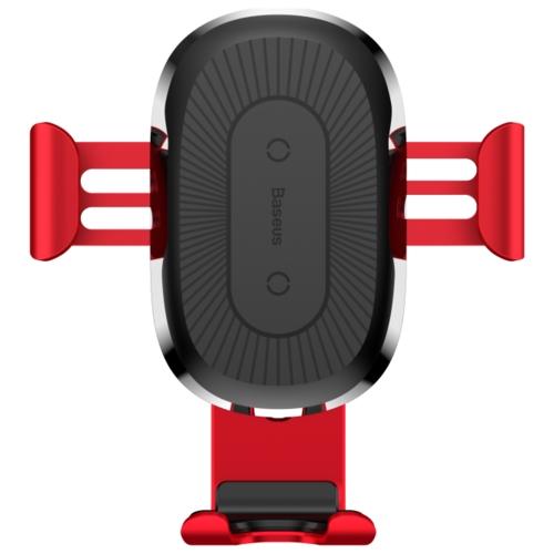 Держатель с беспроводной зарядкой Baseus Wireless Charger Gravity Car Mount