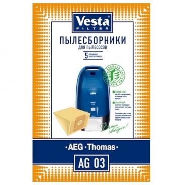 Vesta filter Бумажные пылесборники AG 03