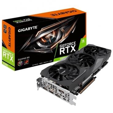 Видеокарта GIGABYTE GeForce RTX 2080 1710MHz PCI-E 3.0 8192MB 14000MHz 256 bit HDMI 3xDisplayPort HDCP GAMING