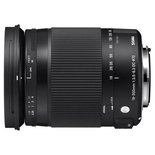 Объектив Sigma 18-300mm f/3.5-6.3 DC Macro OS HSM Contemporary Canon EF-S