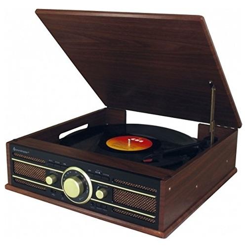 Виниловый проигрыватель Soundmaster PL550BR