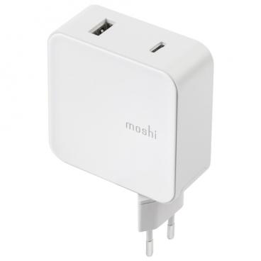 Сетевая зарядка Moshi ProGeo USB-C (42 Вт)