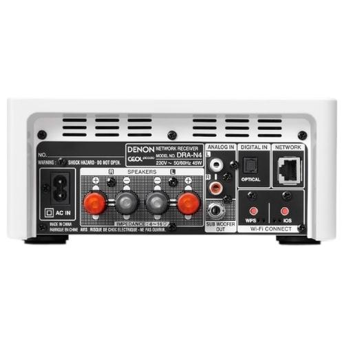 Сетевой аудиоплеер Denon DRA-N4