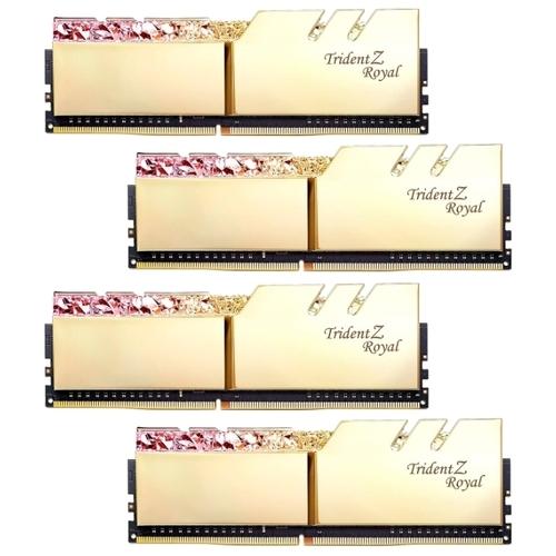 Оперативная память 16 ГБ 4 шт. G.SKILL F4-3600C16Q-64GTRGC