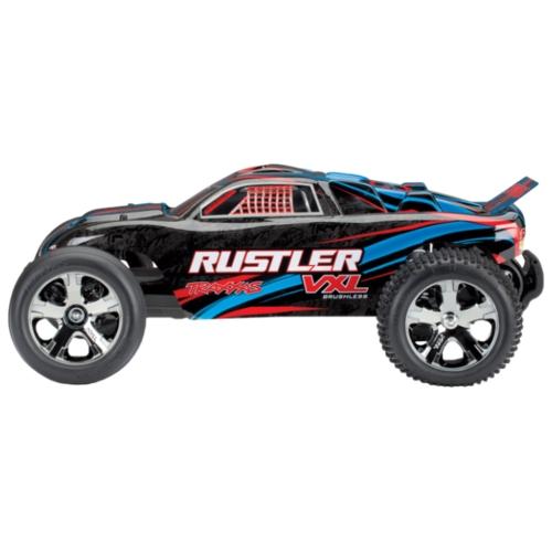 Трагги Traxxas Rustler VXL TQi (TRA37076-4) 1:10 44.5 см
