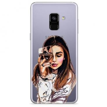 Чехол With Love. Moscow W003081SAM для Samsung Galaxy A8 (2018)
