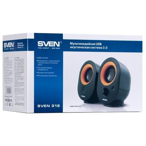 Компьютерная акустика SVEN 316