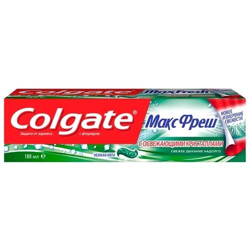 Зубная паста Colgate МаксФреш Нежная Мята