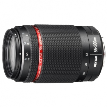 Объектив Pentax HD DA 55-300mm f/4-5.8 ED WR
