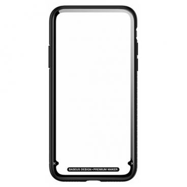 Чехол Baseus See-through glass protective case для Apple iPhone X