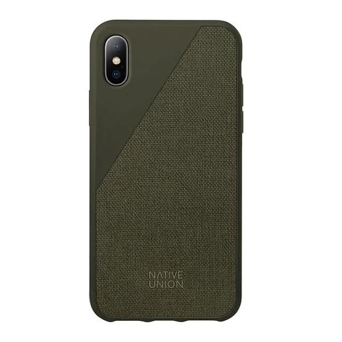 Чехол Native Union CLIC CANVAS для Apple iPhone X