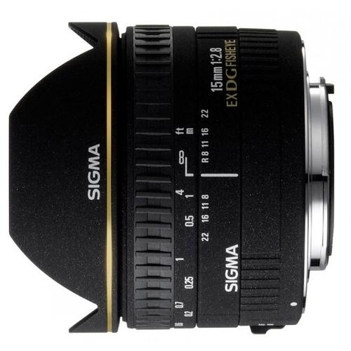 """Объектив Sigma AF 15mm f/2.8 EX DG DIAGONAL FISHEYE Canon EF"""""""