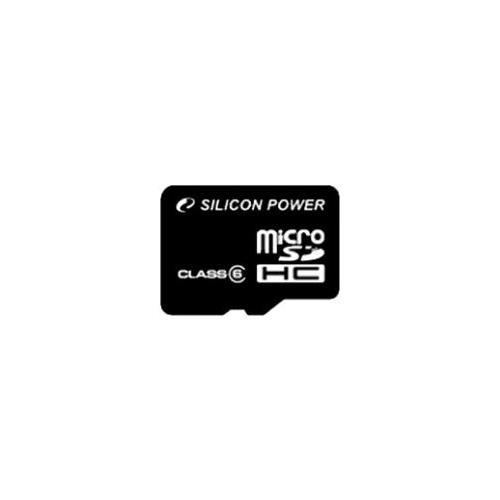Карта памяти Silicon Power microSDHC Class 6