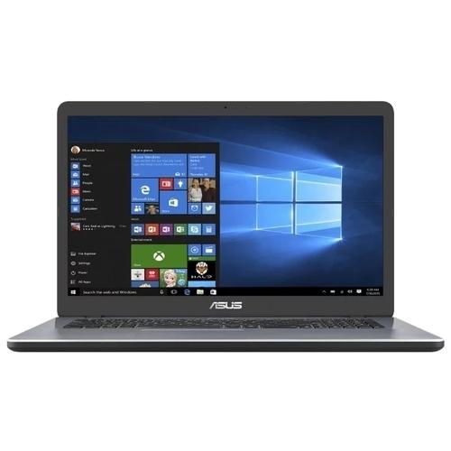 "Ноутбук ASUS VivoBook 17 X705UA-GC880T (Intel Pentium 4417U 2300 MHz/17.3""/1920x1080/4GB/256GB SSD/DVD нет/Intel HD Graphics 610 null/Wi-Fi/Bluetooth/Windows 10 Home)"