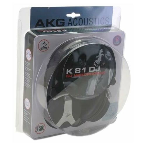 Наушники AKG K 81 DJ