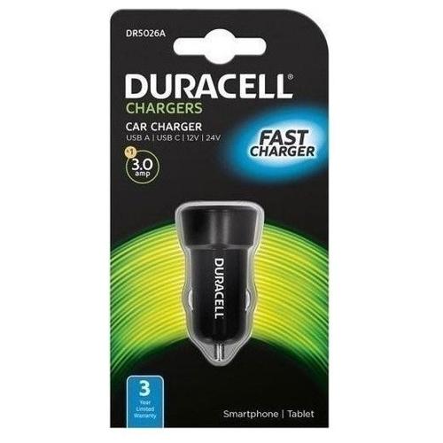 Автомобильная зарядка Duracell DR5026
