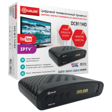 TV-тюнер D-COLOR DC811HD