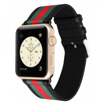 CARCAM Ремешок для Apple Watch 42mm Gucci