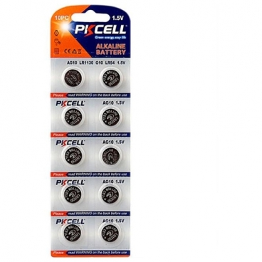Батарейка PKCELL Super Akaline Button Cell AG10
