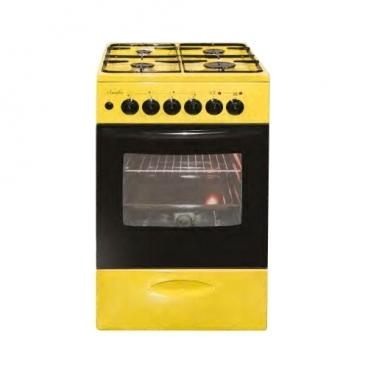 Плита Лысьва ЭГ 404 МС желтый
