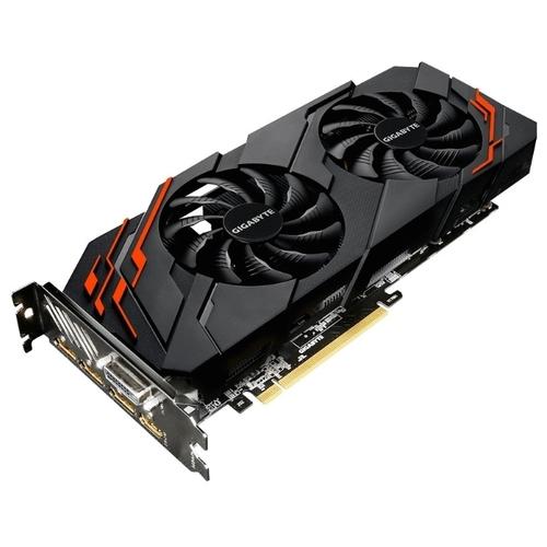 Видеокарта GIGABYTE GeForce GTX 1070 Ti 1607MHz PCI-E 3.0 8192MB 8008MHz 256 bit DVI HDMI HDCP WINDFORCE