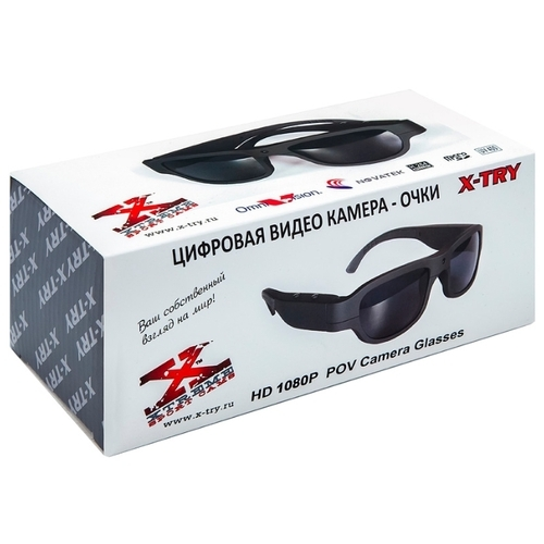 Экшн-камера X-TRY XTG270 Full HD DARK GREY