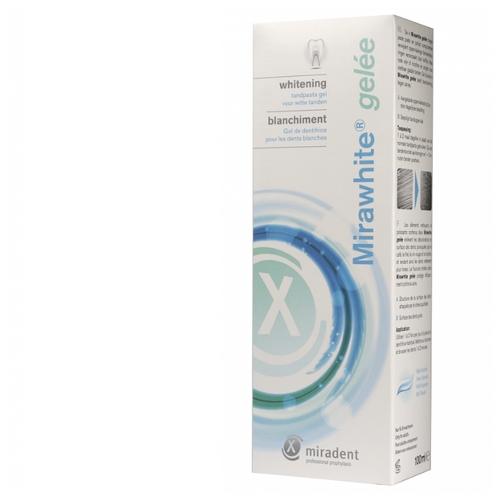 Зубная паста miradent Mirawhite gelee