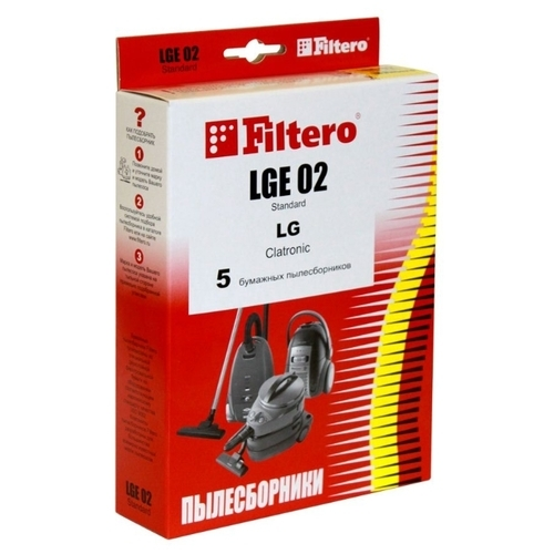 Filtero Мешки-пылесборники LGE 02 Standard