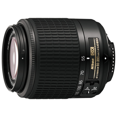 Объектив Nikon 55-200mm f/4-5.6G AF-S DX ED Zoom-Nikkor