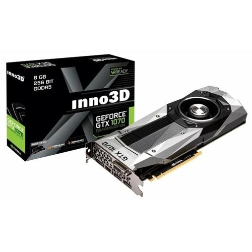 Видеокарта INNO3D GeForce GTX 1070 1506Mhz PCI-E 3.0 8192Mb 8000Mhz 256 bit DVI HDMI HDCP