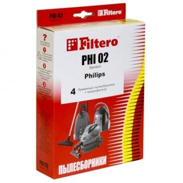 Filtero Мешки-пылесборники PHI 02 Standard