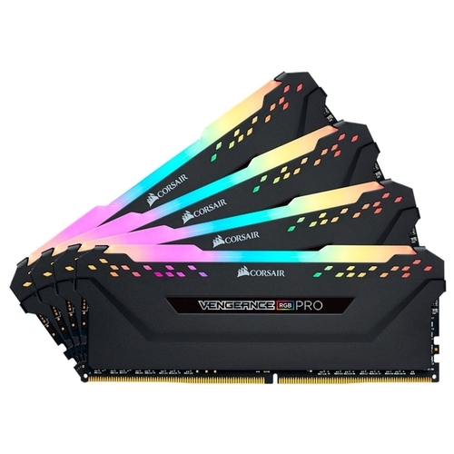 Оперативная память 16 ГБ 4 шт. Corsair CMW64GX4M4K3600C18