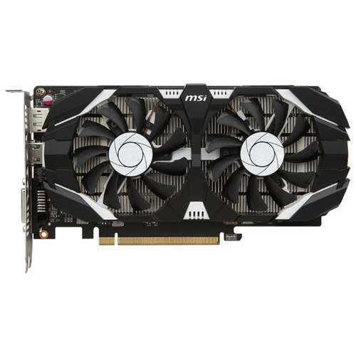 Видеокарта MSI GeForce GTX 1050 1404MHz PCI-E 3.0 2048MB 7008MHz 128 bit DVI HDMI HDCP OC V1