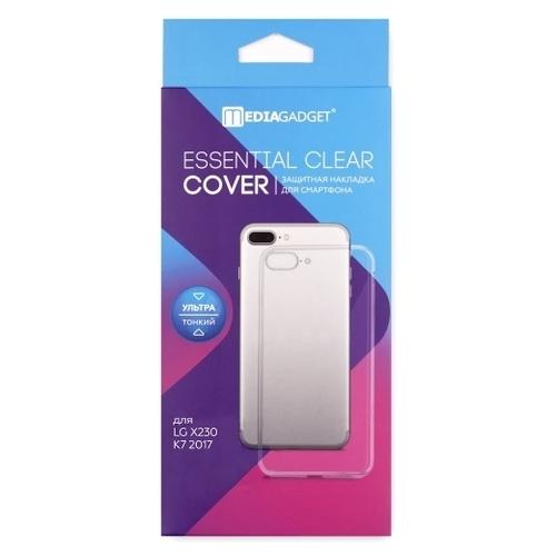 Чехол Media Gadget ESSENTIAL CLEAR COVER для LG X230 K7 2017