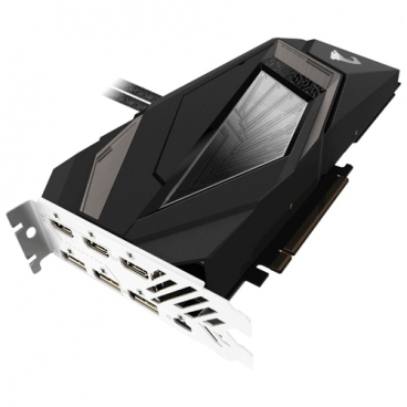 Видеокарта GIGABYTE GeForce RTX 2080 Ti 1770MHz PCI-E 3.0 11264MB 14140MHz 352 bit 3xHDMI HDCP AORUS XTREME WATERFORCE