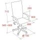 Компьютерное кресло EasyChair 427 TL для руководителя