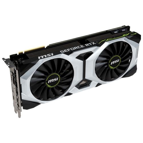 Видеокарта MSI GeForce RTX 2080 1515MHz PCI-E 3.0 8192MB 14000MHz 256 bit HDMI HDCP Ventus OC