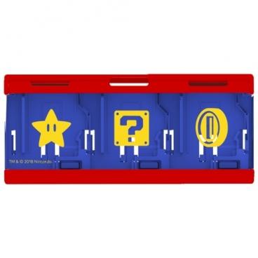 HORI Кейс для хранения 6 игровых карт для консоли Nintendo Switch (NSW-097U / NSW-106U)