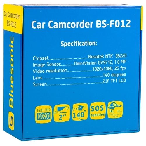 Видеорегистратор Bluesonic BS-F012