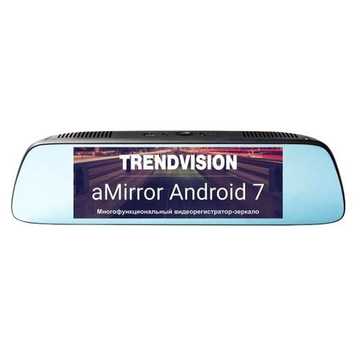Видеорегистратор TrendVision aMirror 7 Android, 2 камеры, GPS