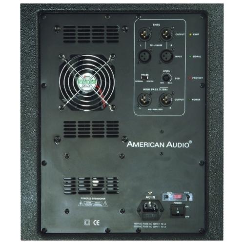 Сабвуфер American Audio PXW18P