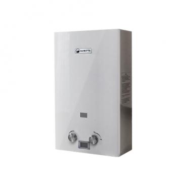 Проточный газовый водонагреватель Wert 12E Silver