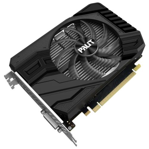 Видеокарта Palit GeForce GTX 1650 SUPER 1530MHz PCI-E 3.0 4096MB 12000MHz 192 bit DVI HDMI DisplayPort HDCP StormX