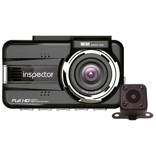 Видеорегистратор Inspector Octopus, 2 камеры, GPS