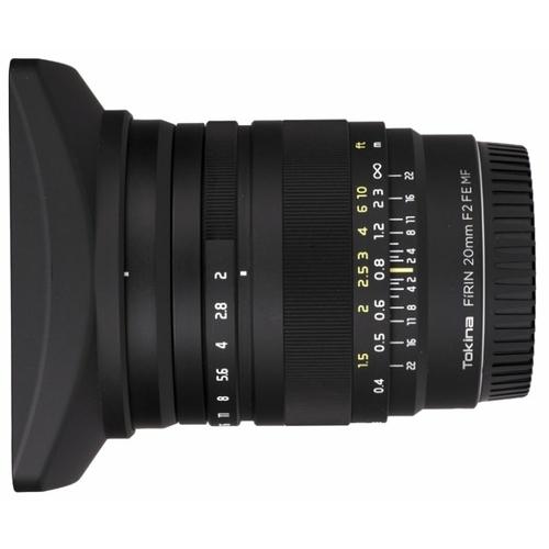 Объектив Tokina FiRIN 20mm f/2.0 FE MF Sony E